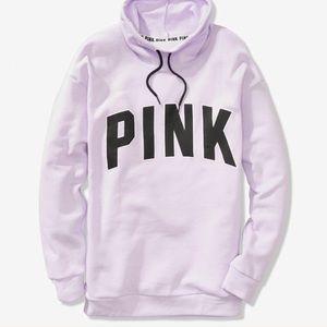 PINK Cowlneck pullover